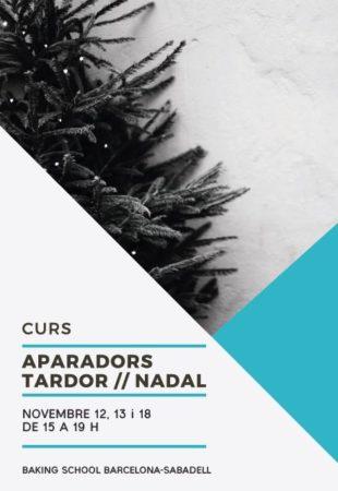 TALLER APARADORS TARDOR /NADAL 2019